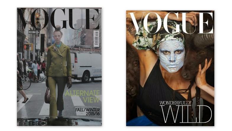 Włoski Vogue przełamuje konwenanse