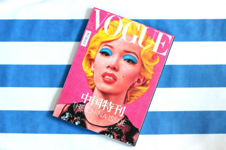 Okładka włoskiego Voguea