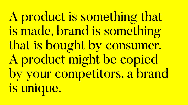 Produkt czy marka
