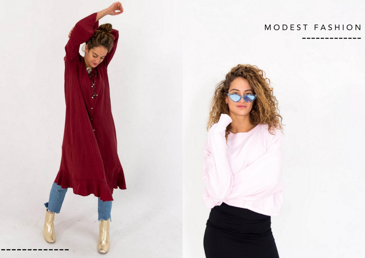 Skromna modadla kobiet