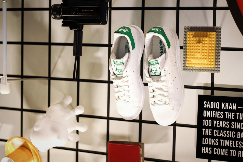 Buty Adidasa w Design Museum