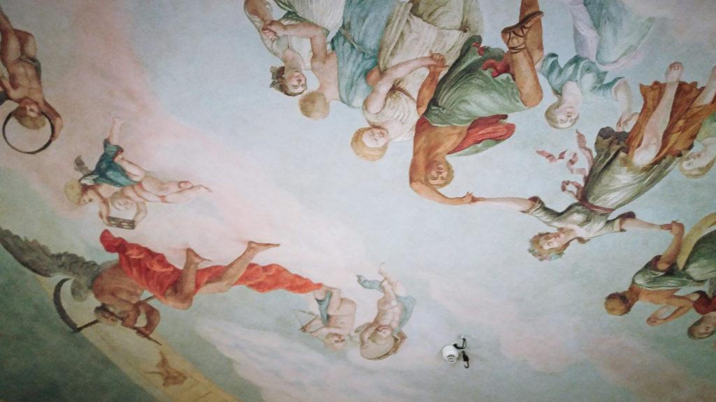 freski w Palacu Wallenberg-Pachaly